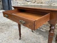 Antique Victorian Walnut Writing Table Desk (9 of 17)