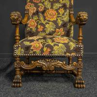Pair of Throne Chairs (10 of 11)