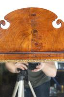 Large Antique George II Walnut Fretwork Mirror (13 of 13)