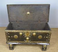 Characterful Early Indian Chest 18th Century (2 of 10)