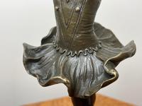 Charming  German Art Deco Style Bronze Sculpture Dancing Young Ballerina Girl (7 of 24)