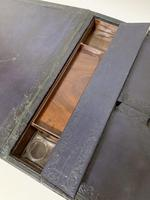 Antique Victorian Leather Document Writing Box (8 of 19)
