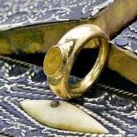 The Ancient Roman Gold Intaglio Scorpion Ring (4 of 6)