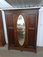 Edwardian Barley Twist Wardrobe