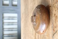 Scandinavian / Swedish 'Folk Art' wooden sliding-lid bowl 19th Century (13 of 15)