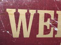 Vintage English Original Enamel Metal Welcome Coffee Lovers Double Sided Shop Sign (11 of 21)