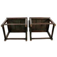 Qing Dynasty Hongmu Throne Chairs (6 of 8)