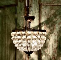 Beautiful French Empire Style Basket Chandelier (6 of 6)