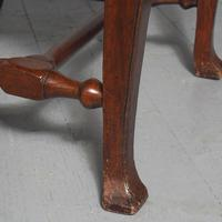 Antique Pair of George II Mahogany Side Chairs (10 of 10)