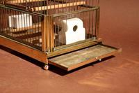 Brass Very Decorative Bird Cage c.1920 (6 of 8)