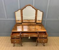 Substantial Burr Walnut Dressing Table (5 of 18)