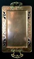 WMF Copper and Brass Butlers Tray (3 of 5)