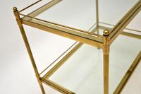 Vintage French Brass Drinks Trolley (6 of 10)