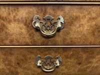 Set of 3 Burr Walnut Bedside Drawers (14 of 16)