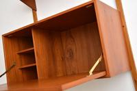 Danish Teak Vintage PS  Wall  System Bookcase Cabinet (5 of 9)