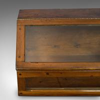 Antique Display Case, Haberdashery, Retail Counter Top Cabinet, Edwardian, 1910 (9 of 11)