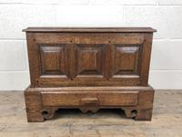 18th Century Style Welsh Oak Coffer Bach Chest