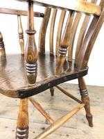Victorian Ash & Elm Windsor Armchair (10 of 14)