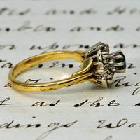 The Vintage Art Deco Style Sapphire & Diamond Ring (3 of 4)