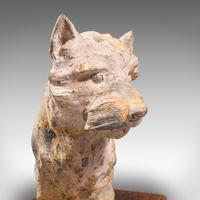 Antique Decorative West Highland Terrier, British, Westie Dog, Edwardian c.1910 (10 of 12)
