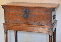 Italian Renaissance Cedar Box on Later Stand (2 of 13)