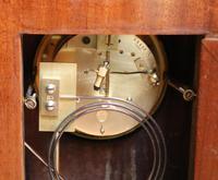 Mahogany Inlaid Mantel Clock (6 of 10)