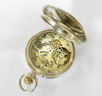 Antique Didisheim Silver Chronograph Pocket Watch c 1900 (3 of 5)