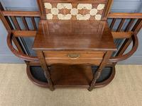 Large Victorian Walnut Hall Stand by James Shoolbred and Co. (15 of 17)