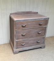 Limed Oak Chest of Drawers (2 of 9)