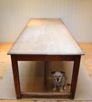 Large Light Mahogany School Refectory Table (8 of 9)