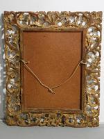 Small 18th Century Florentine Giltwood Mirror (3 of 3)