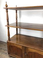 19th Century Mahogany Buffet with Cupboard Base (11 of 18)