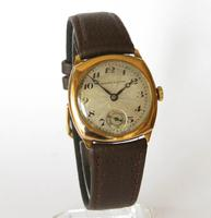 Mid-size 9ct Gold Grosvenor Wrist Watch (2 of 6)