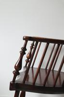 Victorian Scottish Darvel High Comb-backed Windsor Chair, Late 19th Century (25 of 31)