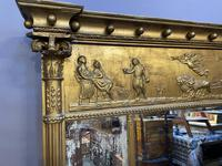 19th Century Large Gilt Overmantle Mirror (15 of 16)
