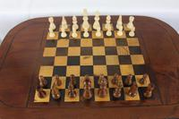 George IV Inlaid Mahogany Chess Table (11 of 13)