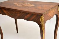 Antique Victorian Marquetry Top Console Table (12 of 12)