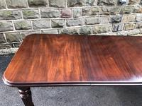 Antique Mahogany Wind Out Extending Dining Table (6 of 12)