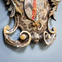 18th Century Painted Cartouche (4 of 9)