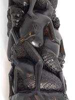 East African Makombi Tribe Family Tree Carving (3 of 6)