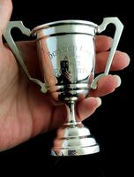 Vintage Sterling Silver Trophy Cup, 1940s (10 of 10)
