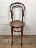 Small Red Bentwood Chair (2 of 8)