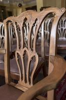 10 Chippendale style Mahogany Dining Chairs (4 of 5)