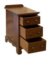Pair of Mahogany Bedside Tables 19th Century (3 of 5)