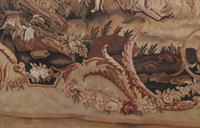Antique French Tapestry Classical Courtly Love Romance c.1860 (8 of 17)