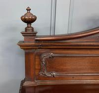 Late Victorian Carved Mahogany Chiffonier (6 of 17)