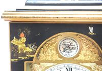 Good Caddy Top Mantel Clock – Chinoiserie Striking 8-day Mantle Clock by Elliot London (5 of 13)