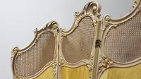 French Painted Three Fold Screen (8 of 14)