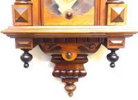 Wow! Antique German Spring Driven Striking 8-day Vienna Wall Clock by Gustav Becker (7 of 13)
