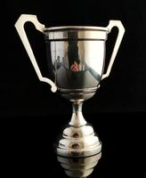 Vintage Sterling Silver Trophy Cup, 1940s (3 of 10)
